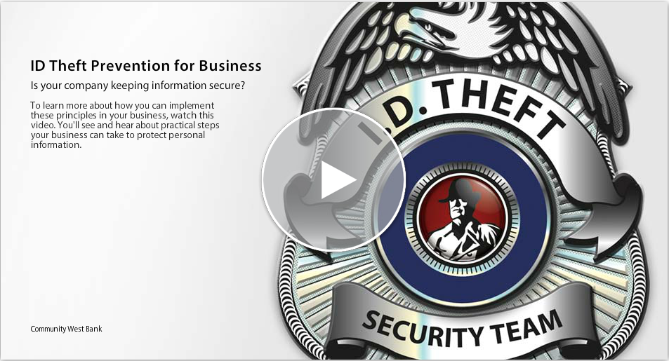 Is your company keeping information secure? To learn more about how you can implement these principles in your business, watch this video. You'll see and hear about practical steps your business can take to protect personal information.